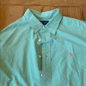 Ralph Lauren Polo 1 Grn & 1 Blue XL classic fit